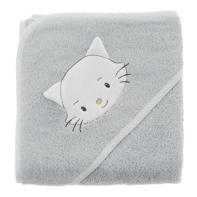 linge de bain chatounet la compagnie du blanc