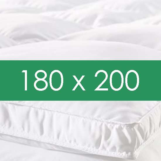 surmatelas 180x200 la compagnie du blanc. Black Bedroom Furniture Sets. Home Design Ideas