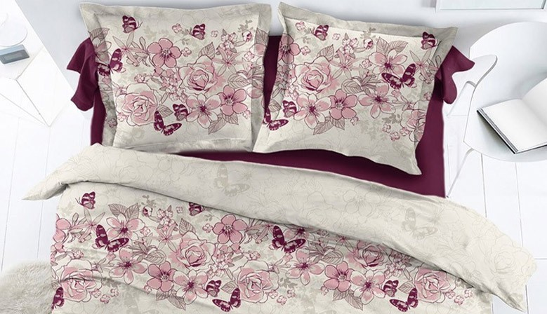 Papillons Percale